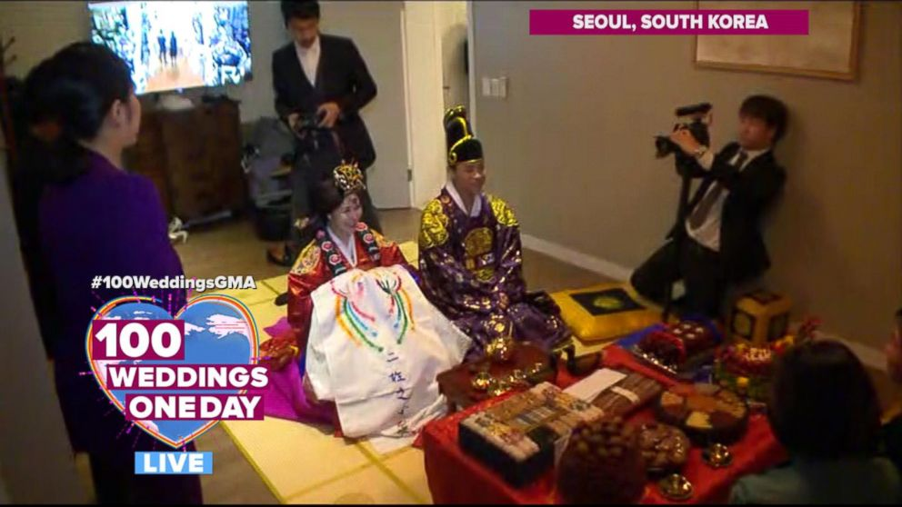 Beautiful South Korean Wedding Ceremony Features Many Family Traditions Video