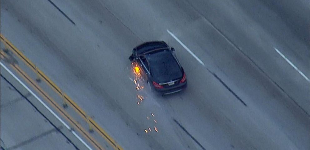 VIDEO: Massive Car Chase Forces Police to Shut Down LA Freeway