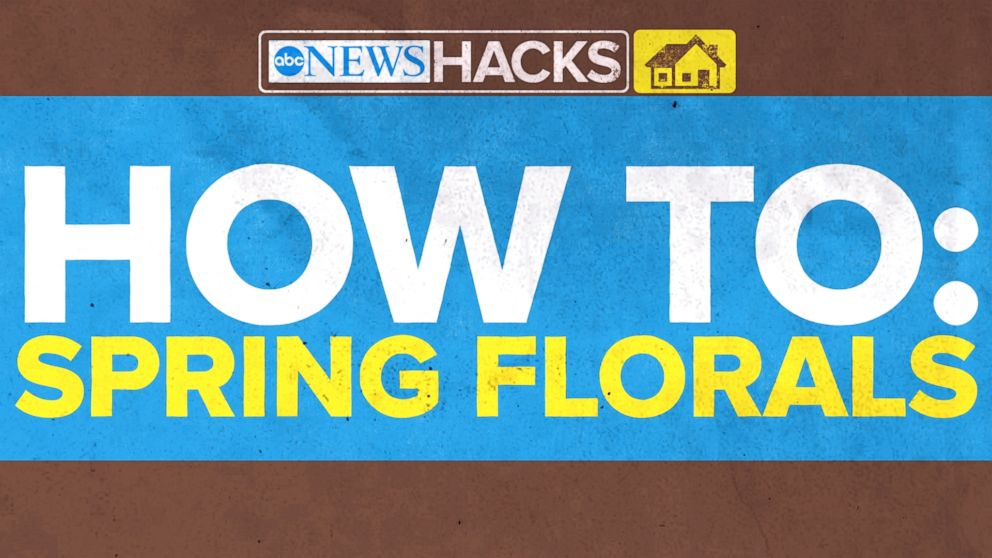 VIDEO: How To: Creative Spring Floral Arrangement