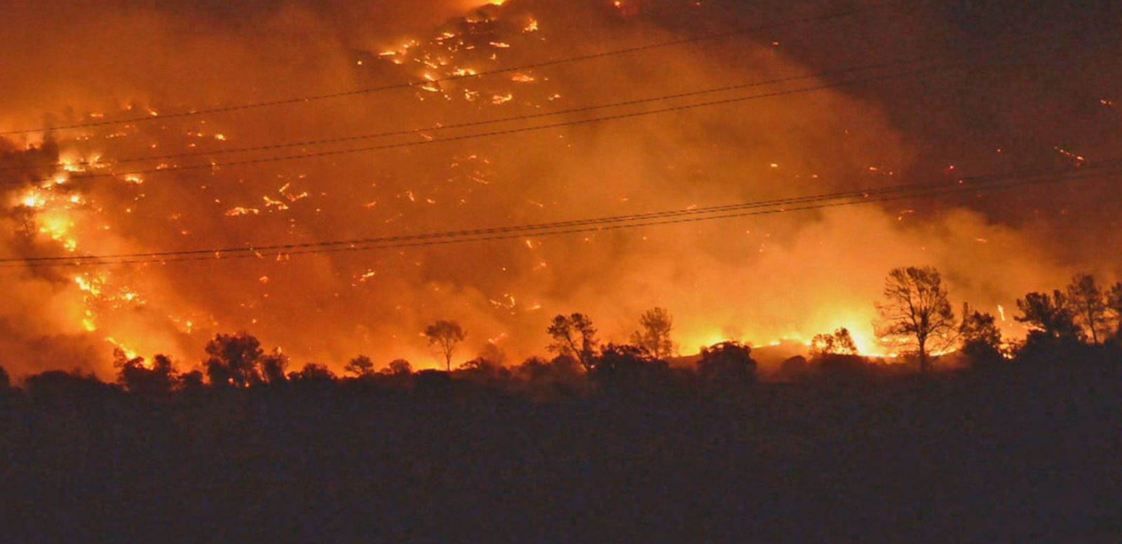 VIDEO: California Residents Barely Escape Wildfires
