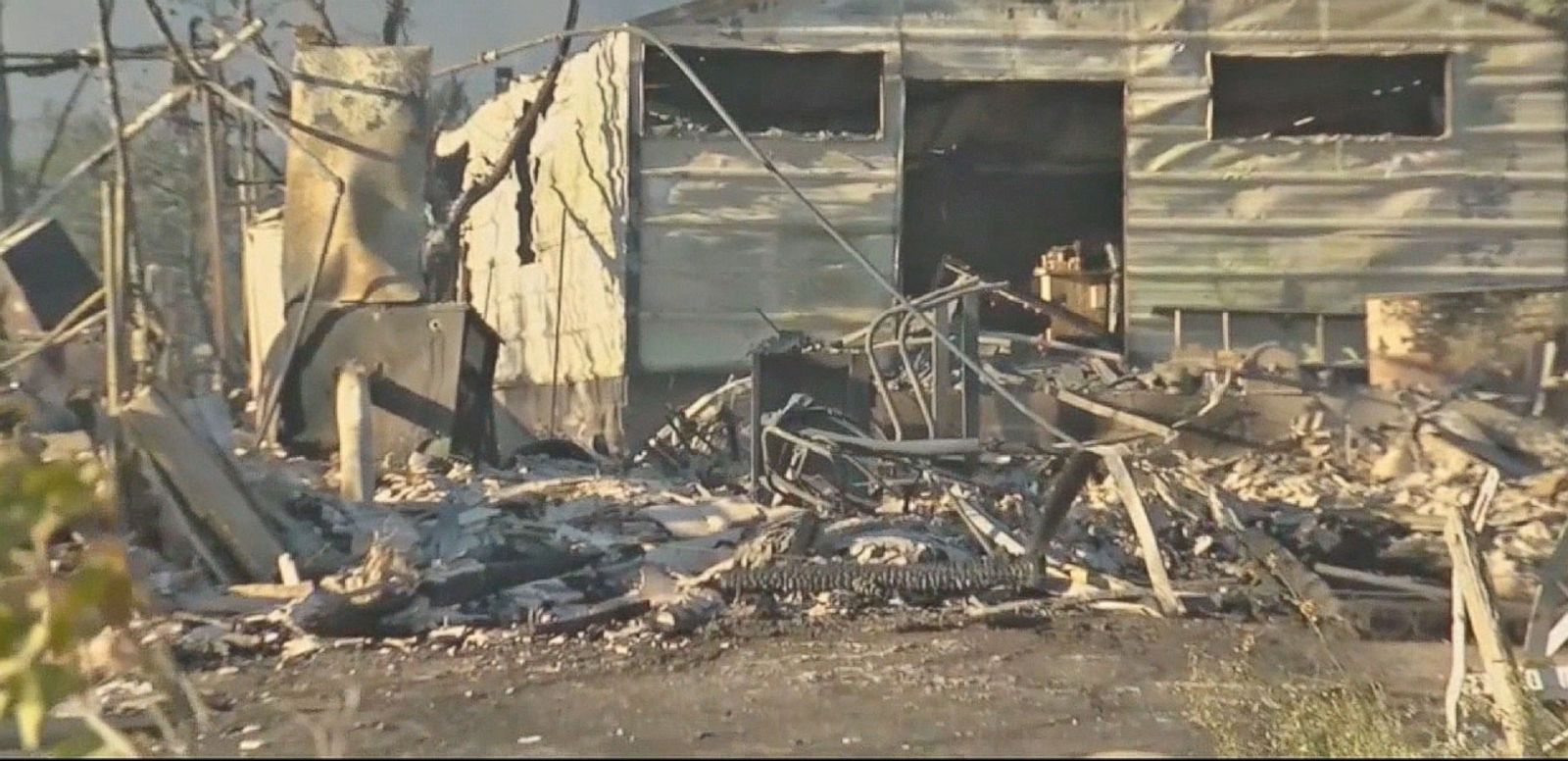 VIDEO: Western Wildfires Destroy Hundreds of Homes