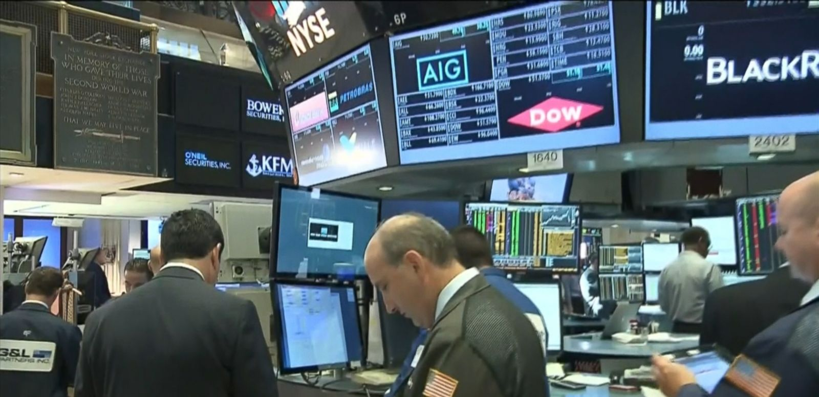 VIDEO: U.S. stocks continued their downward slide this morning, as investors reacted to more potential fallout from Britain's vote to withdraw from the European Union last week.