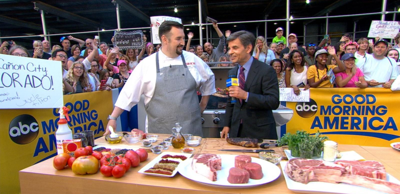 VIDEO: Grilling With Striphouse Steakhouse Chef Michael Vignola