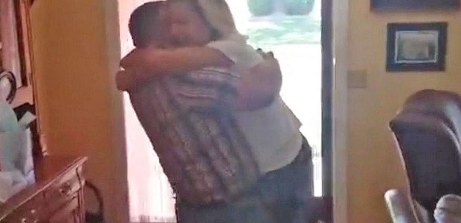 VIDEO: Mom Screams at Sight of Soldier Son