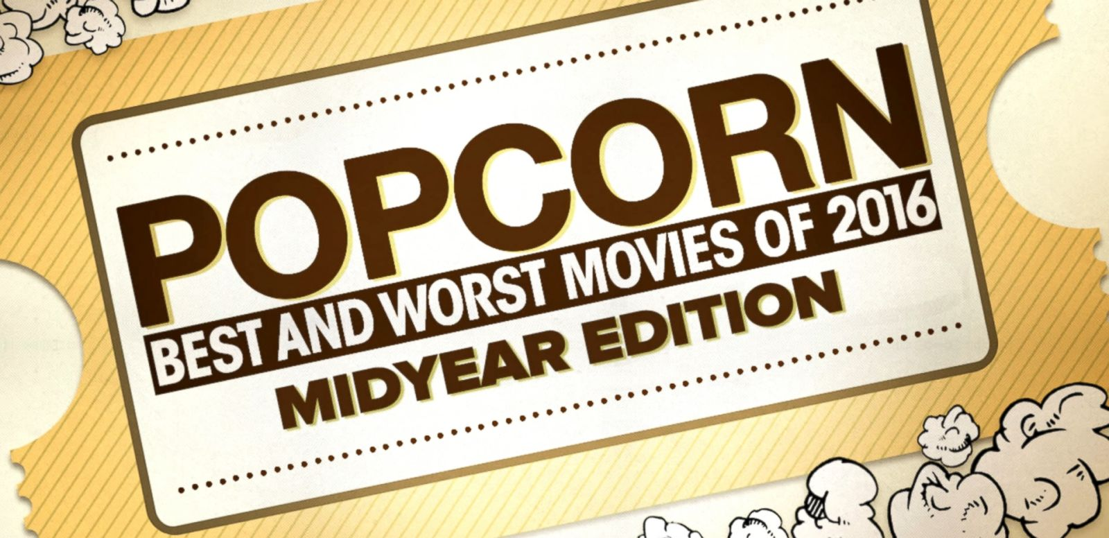 VIDEO: Best and Worst Movies of 2016 'so far'