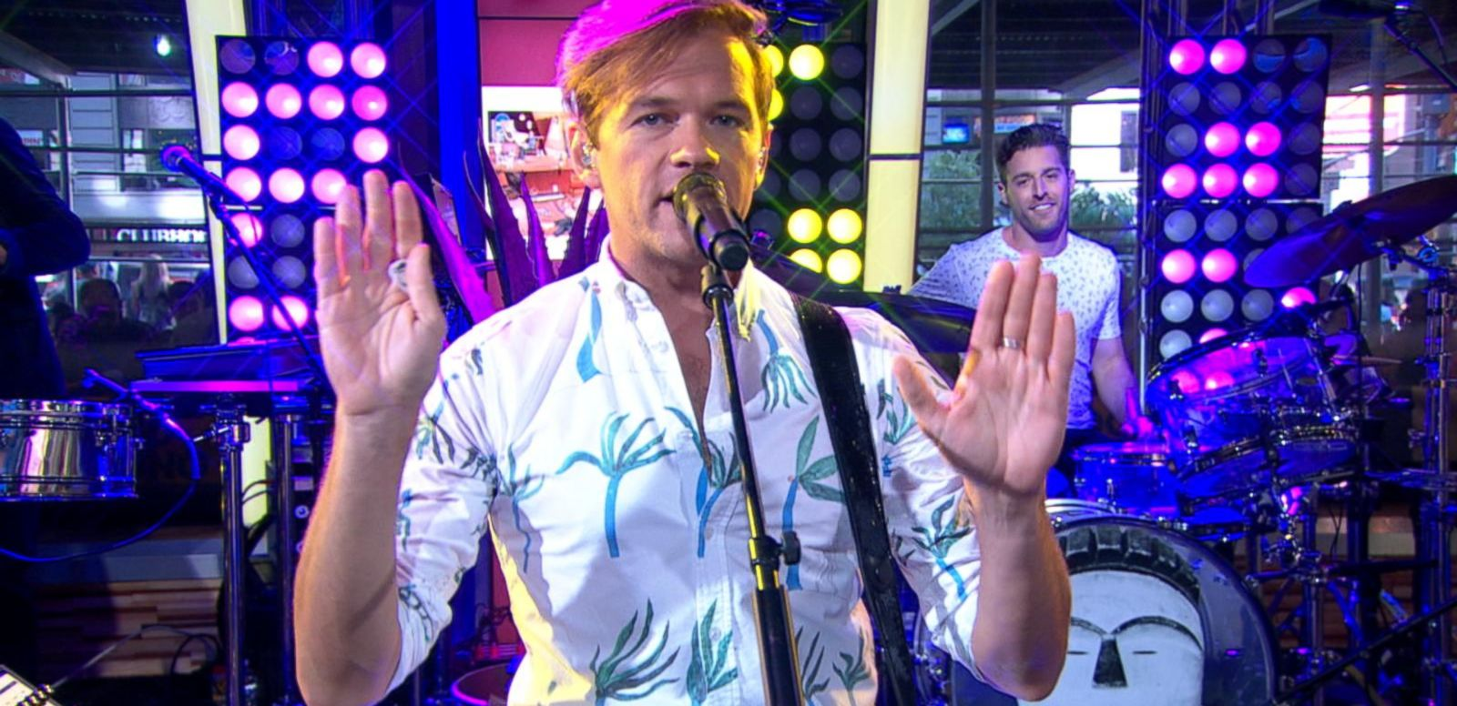 VIDEO: St. Lucia Performs 'Dancing On Glass' on 'GMA'