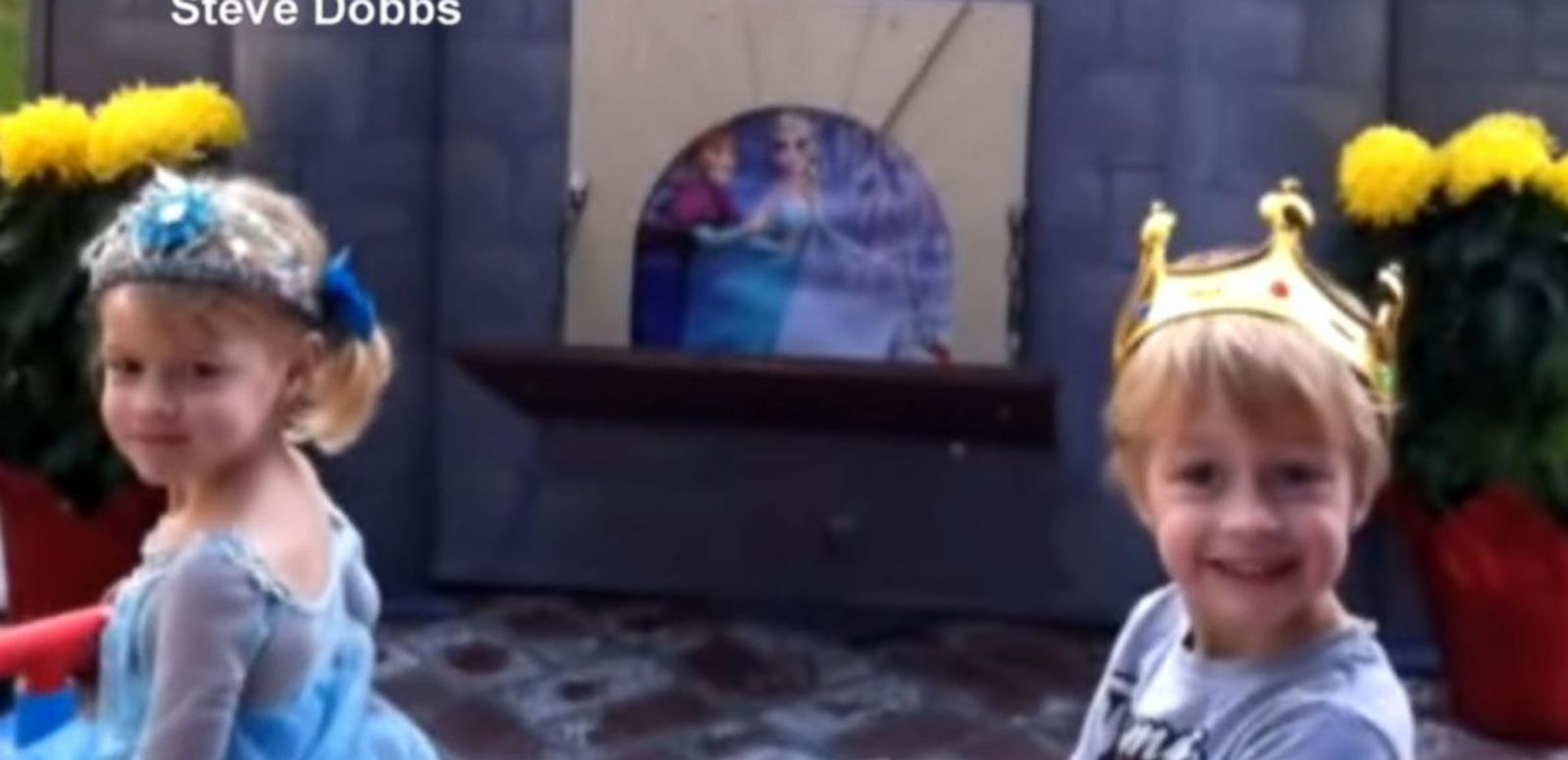 VIDEO: Grandpa Builds Magical Disney-Inspired Backyard Theme Park