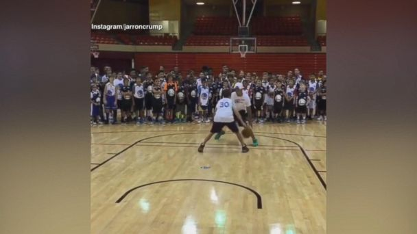 VIDEO: Steph Curry Goes 1-on-1 With Summer Camper
