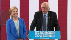 VIDEO: Bernie Sanders Officially Endorses Hillary Clinton