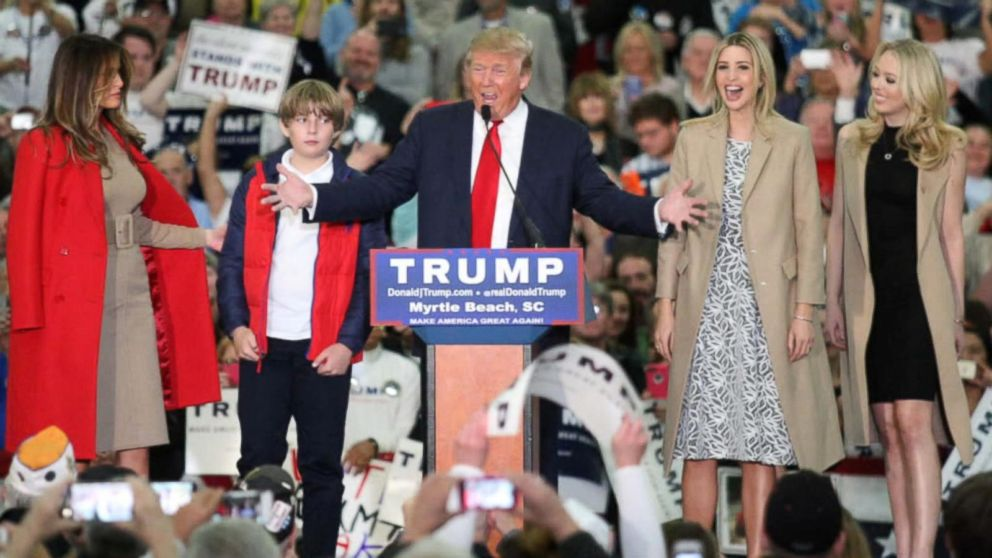 Donald Trump's Family in the Spotlight at RNC