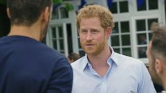 VIDEO: Prince Harry said he regrets not discussing the death of his mother earlier in his life.
