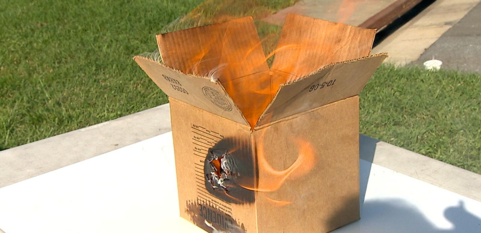 VIDEO: Officials Warn of Spontaneous Combustion Risk of Linseed Oil and Other Common Household Products