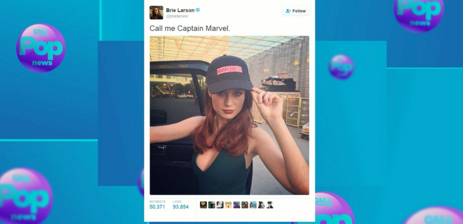 VIDEO: Brie Larson to Star in First Female-Focused Marvel Film