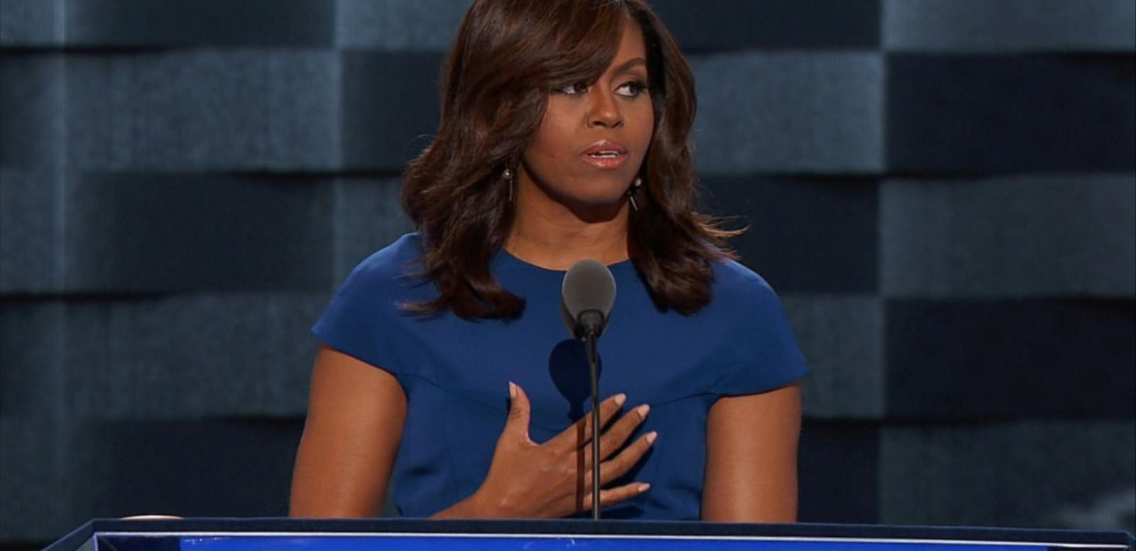 VIDEO: Michelle Obama Gives Rousing DNC Speech