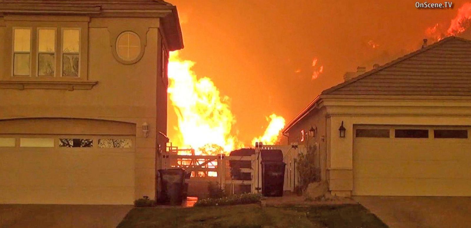 VIDEO: Wildfires Continue to Rage in California