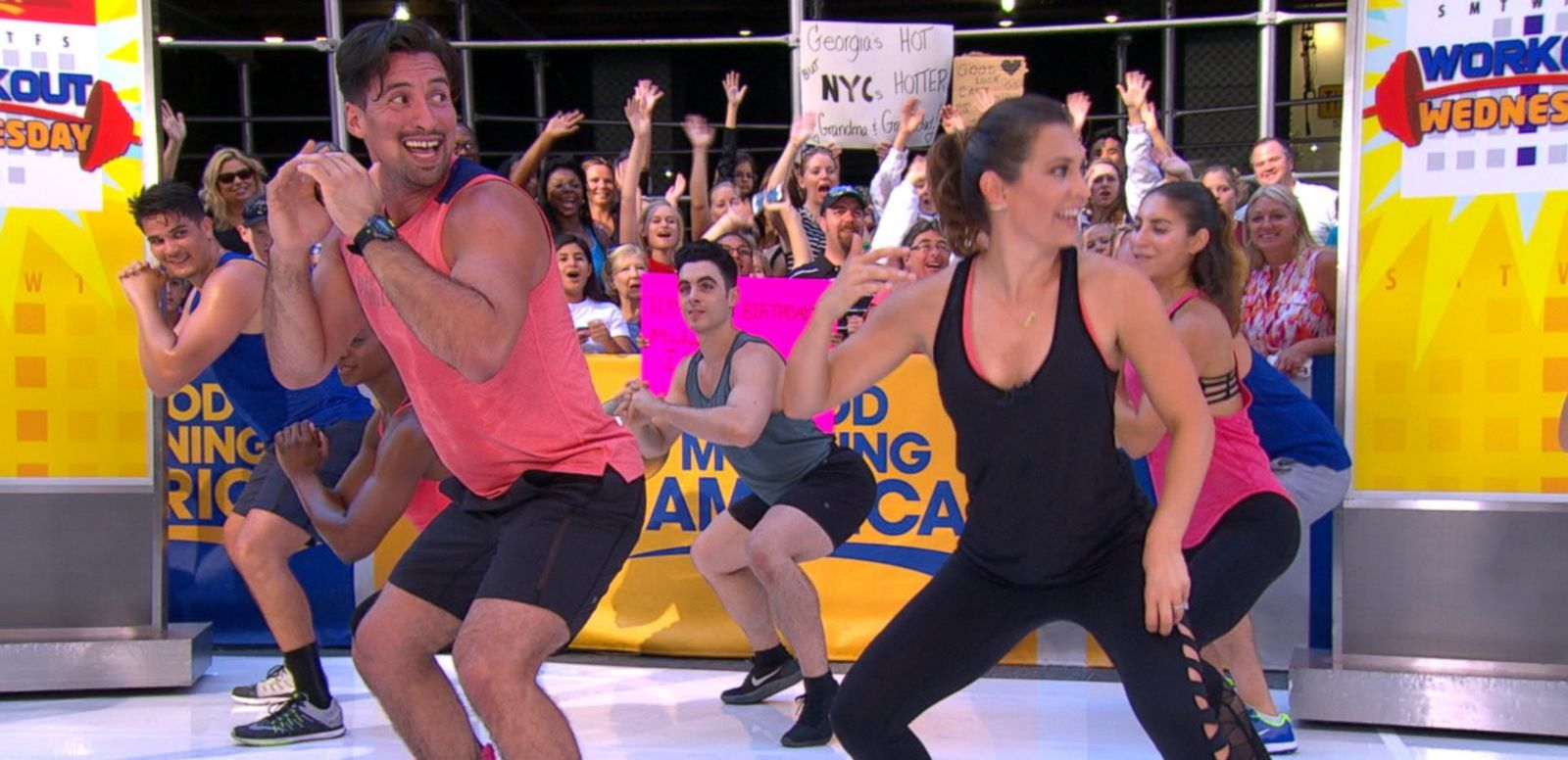 VIDEO: Workout Wednesday With Trainer Layla Luciano