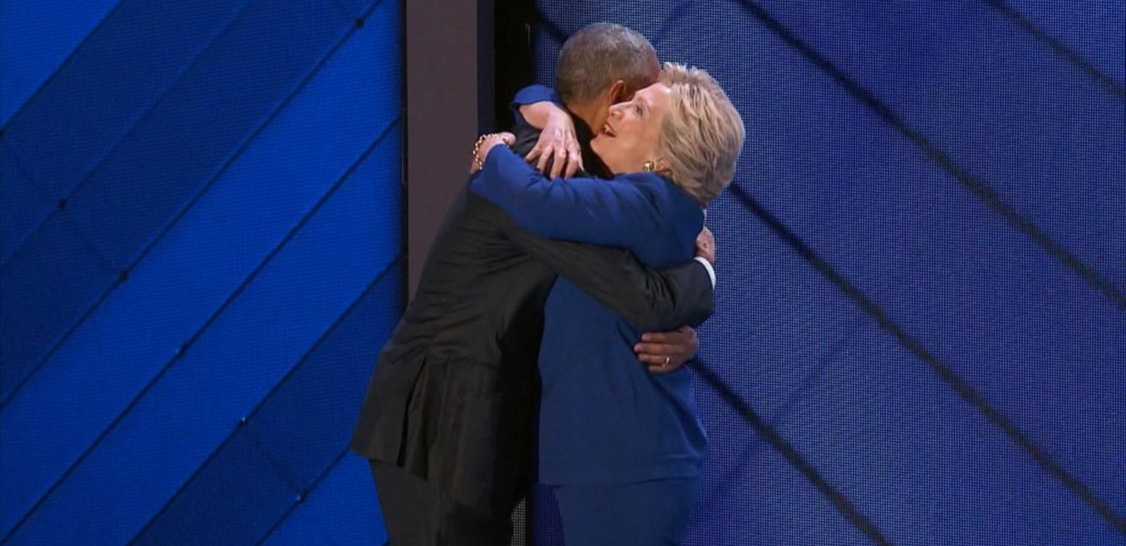 VIDEO: Hillary Clinton Joins President Obama at DNC