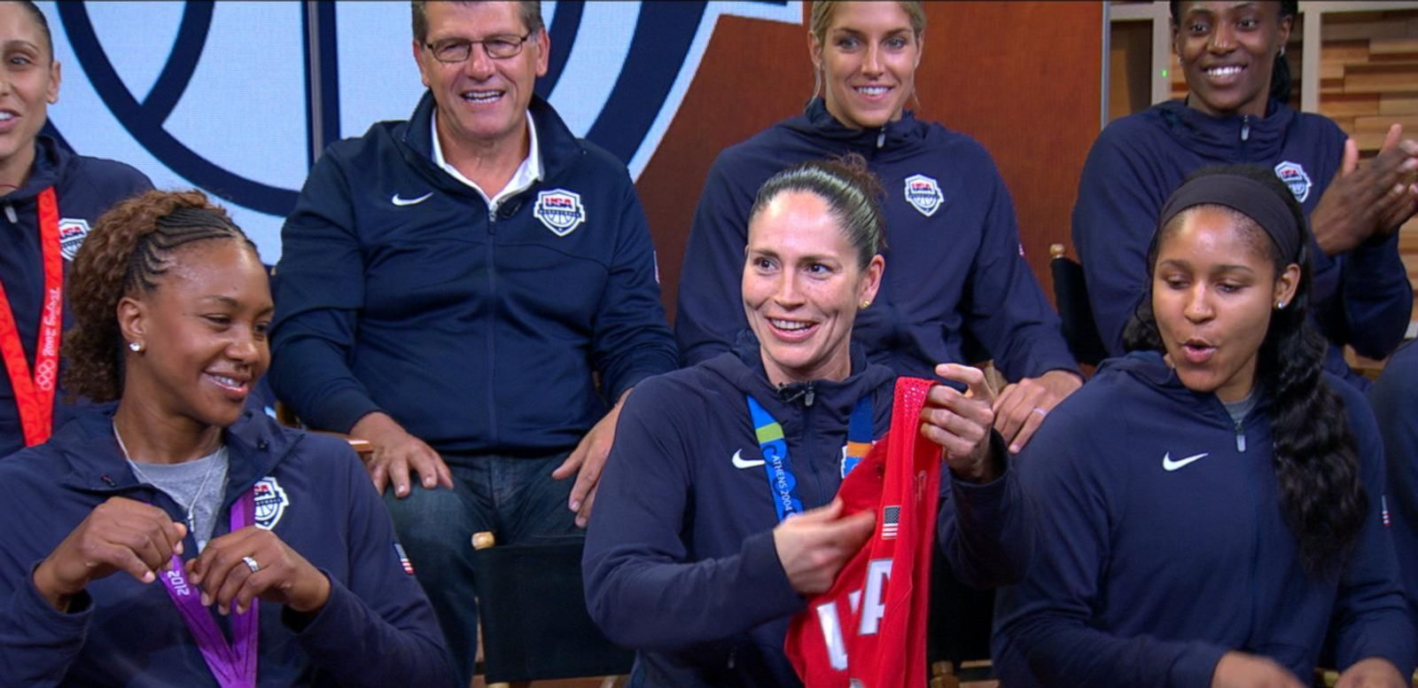 VIDEO: US Women's Olympic Basketball Team Visits 'GMA'