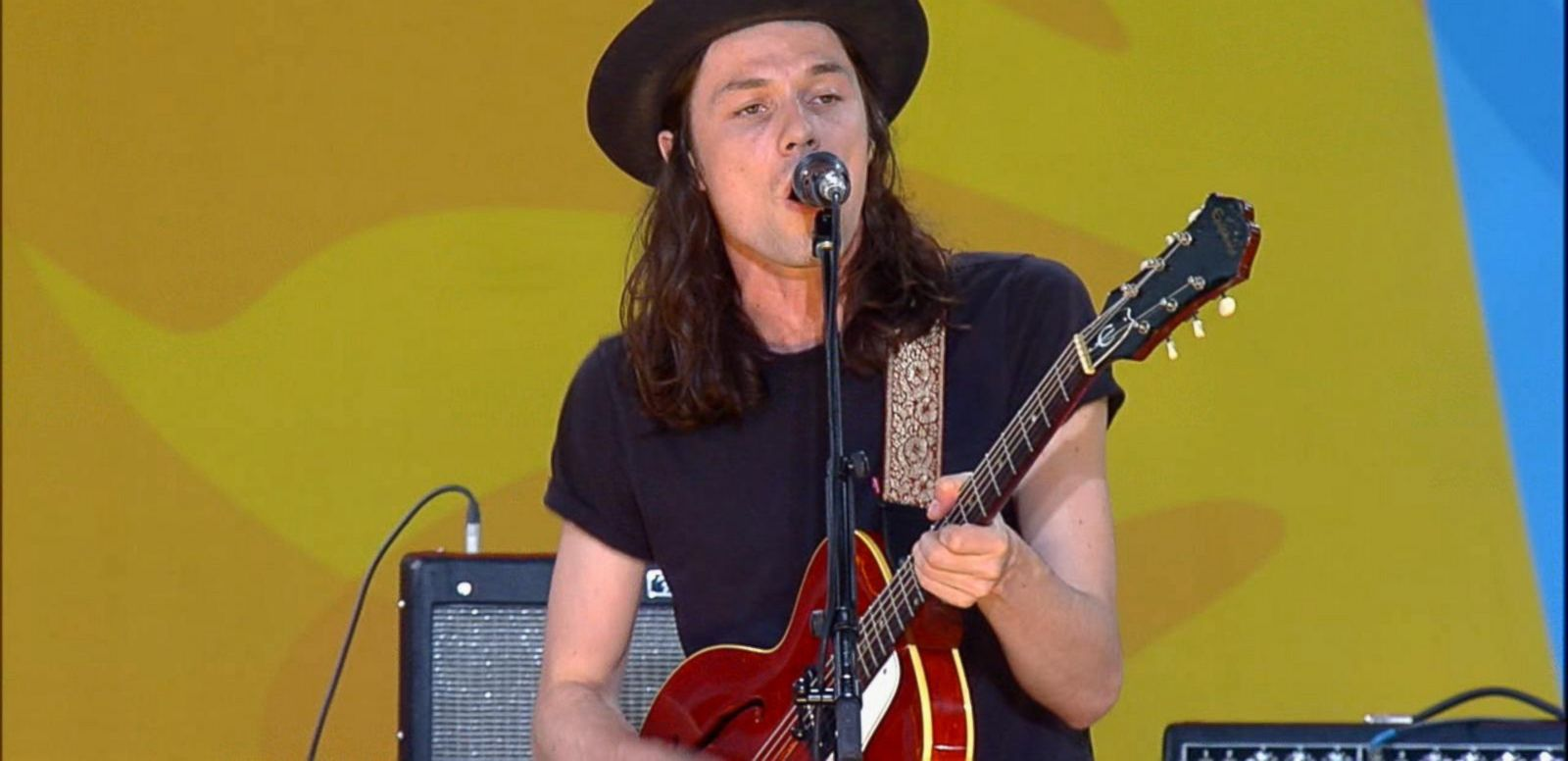 VIDEO: James Bay Sings 'Hold Back the River' on 'GMA'