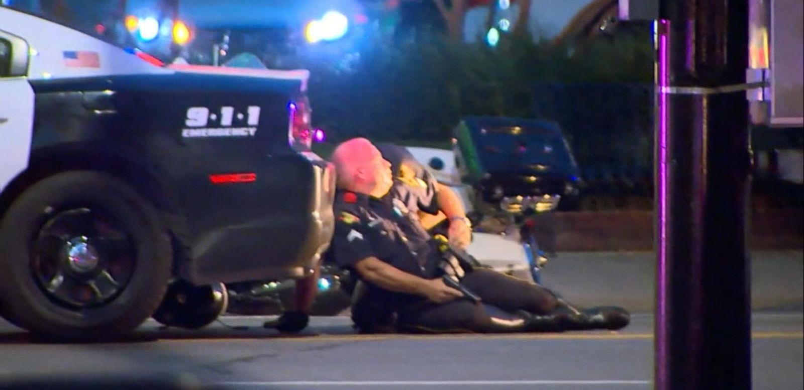 VIDEO: 2 Police Officers Shot in San Diego