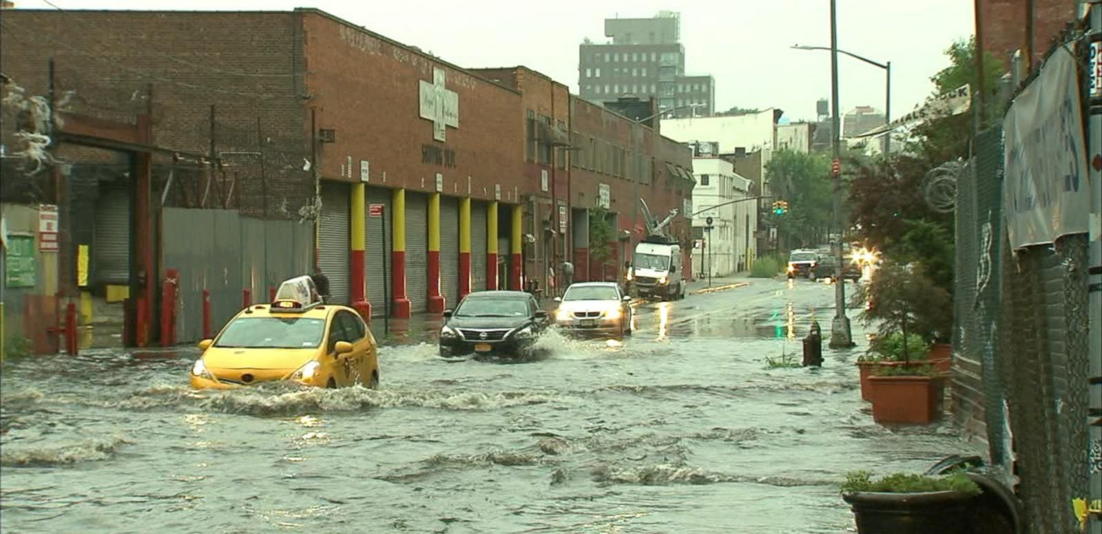 VIDEO: Flash Floods Hit the Northeast