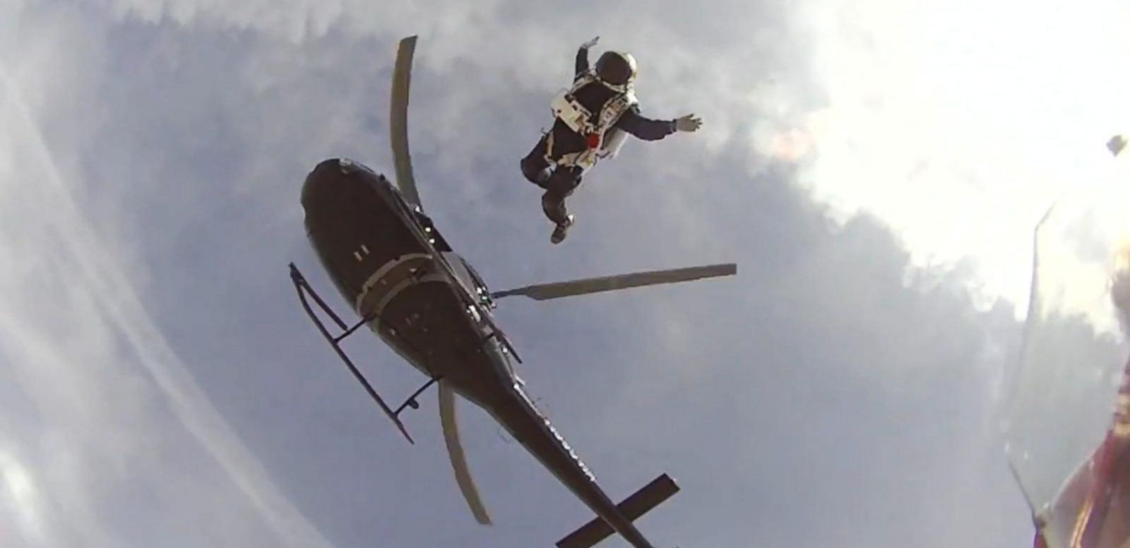 VIDEO: Skydiver Plans to Jump With No Parachute
