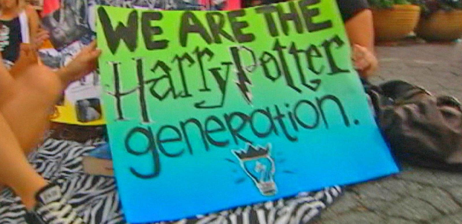 VIDEO: New Harry Potter Book Excites Fans of the Popular Kids Fiction Series