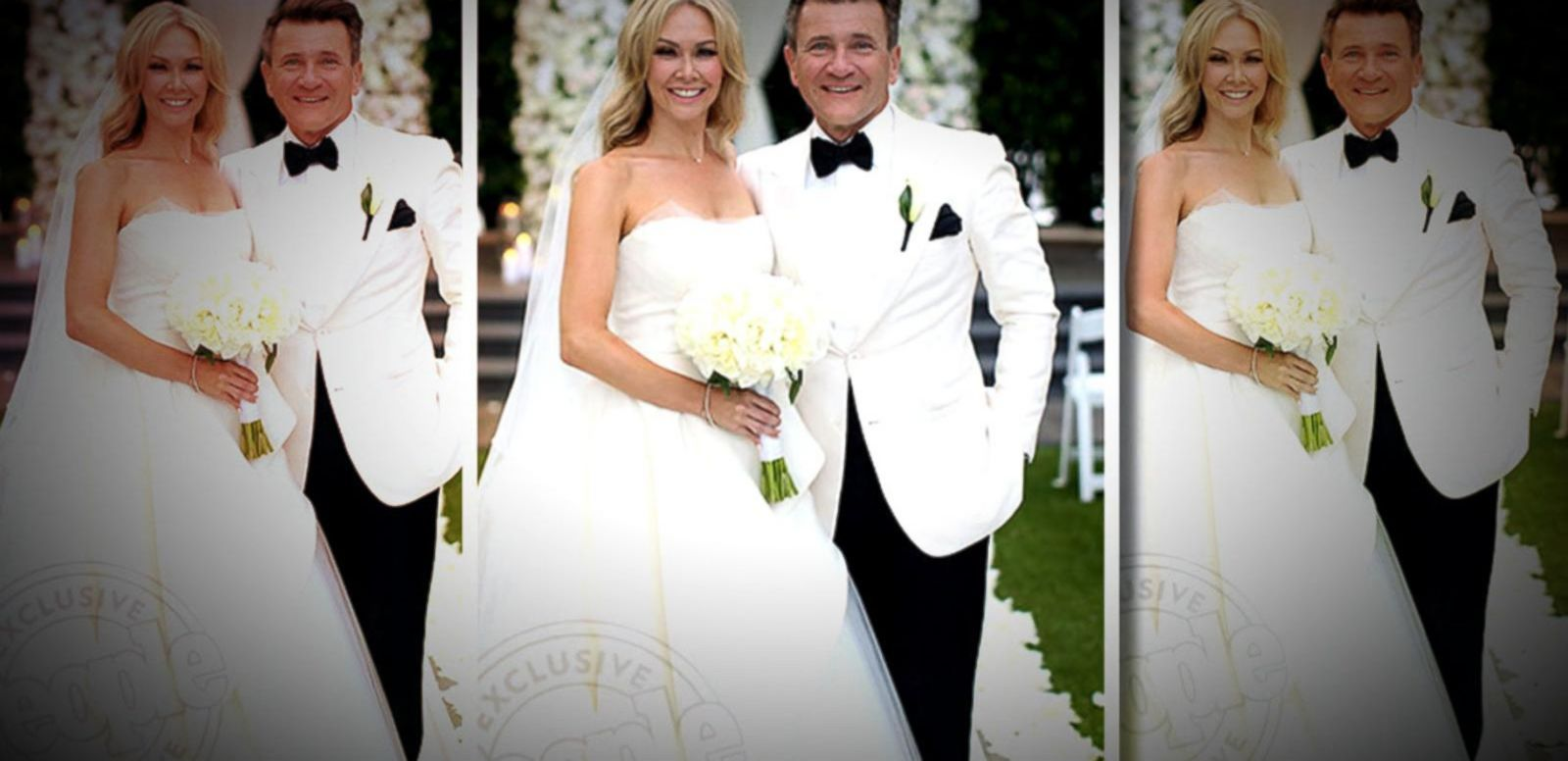 39 dancing with the stars 39 duo kym johnson and robert for Shark tank wedding dress