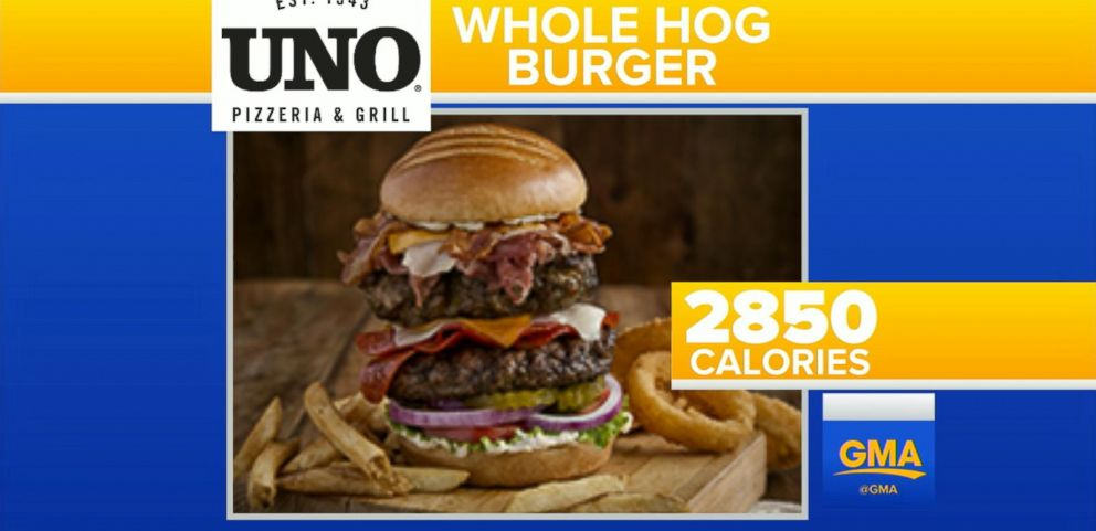 VIDEO: Xtreme Eating Awards Name Restaurant Dishes With Big Calorie Counts