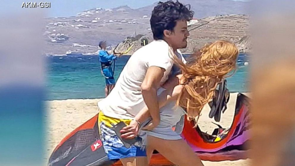 Lindsay Lohan Claims Russian Fiance Is Assaulting Her