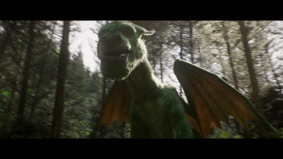 Behind the Scenes of How      Pete     s Dragon      Movie Was Made