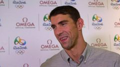 VIDEO: Michael Phelps on His New Role as a Dad