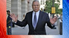 VIDEO: Former Secretary of State Colin Powell on Hillary Clinton Email Scandal