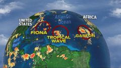 VIDEO: Tropical Atlantic Storms