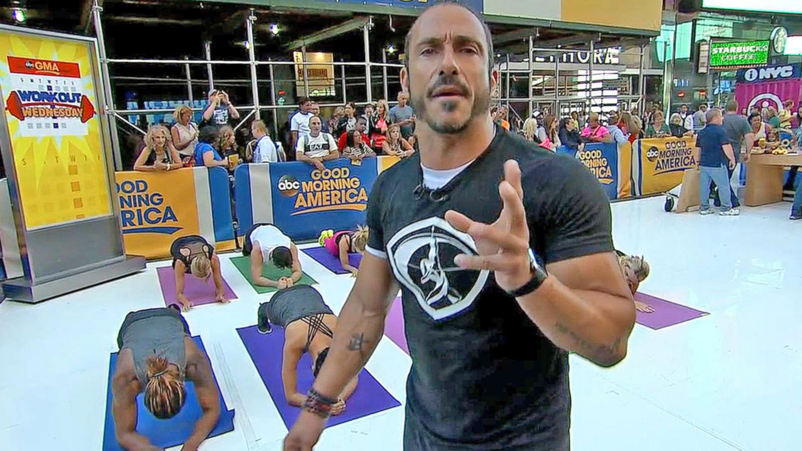 VIDEO: 'GMA' 'Workout Wednesday' With Sebastien Lagree