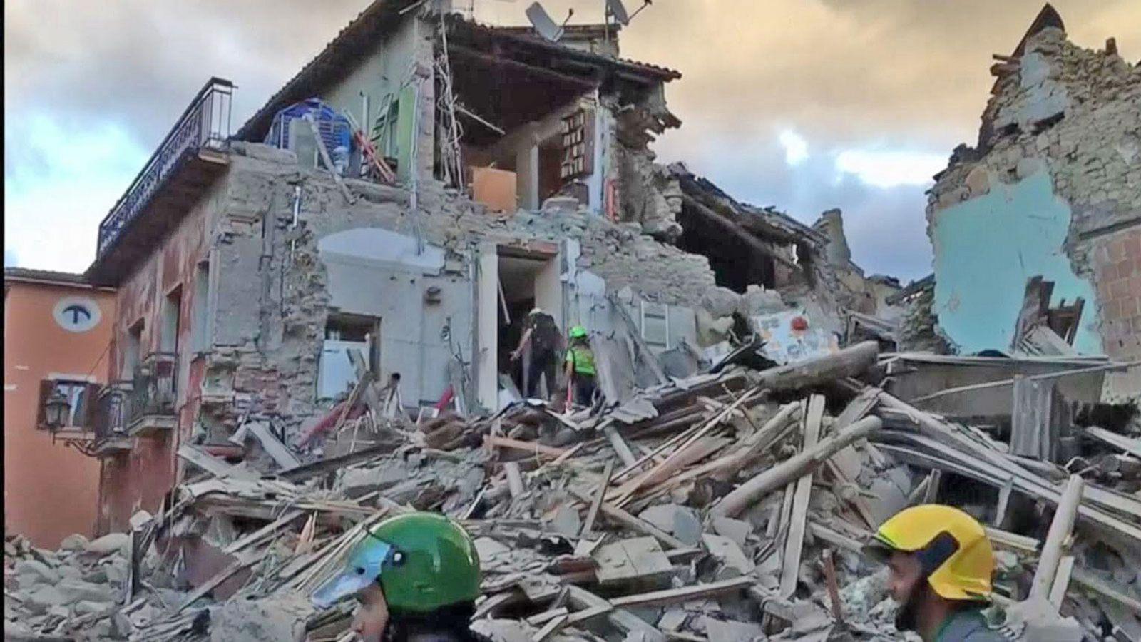 VIDEO: Earthquake Strikes Central Italy, Dozens Killed