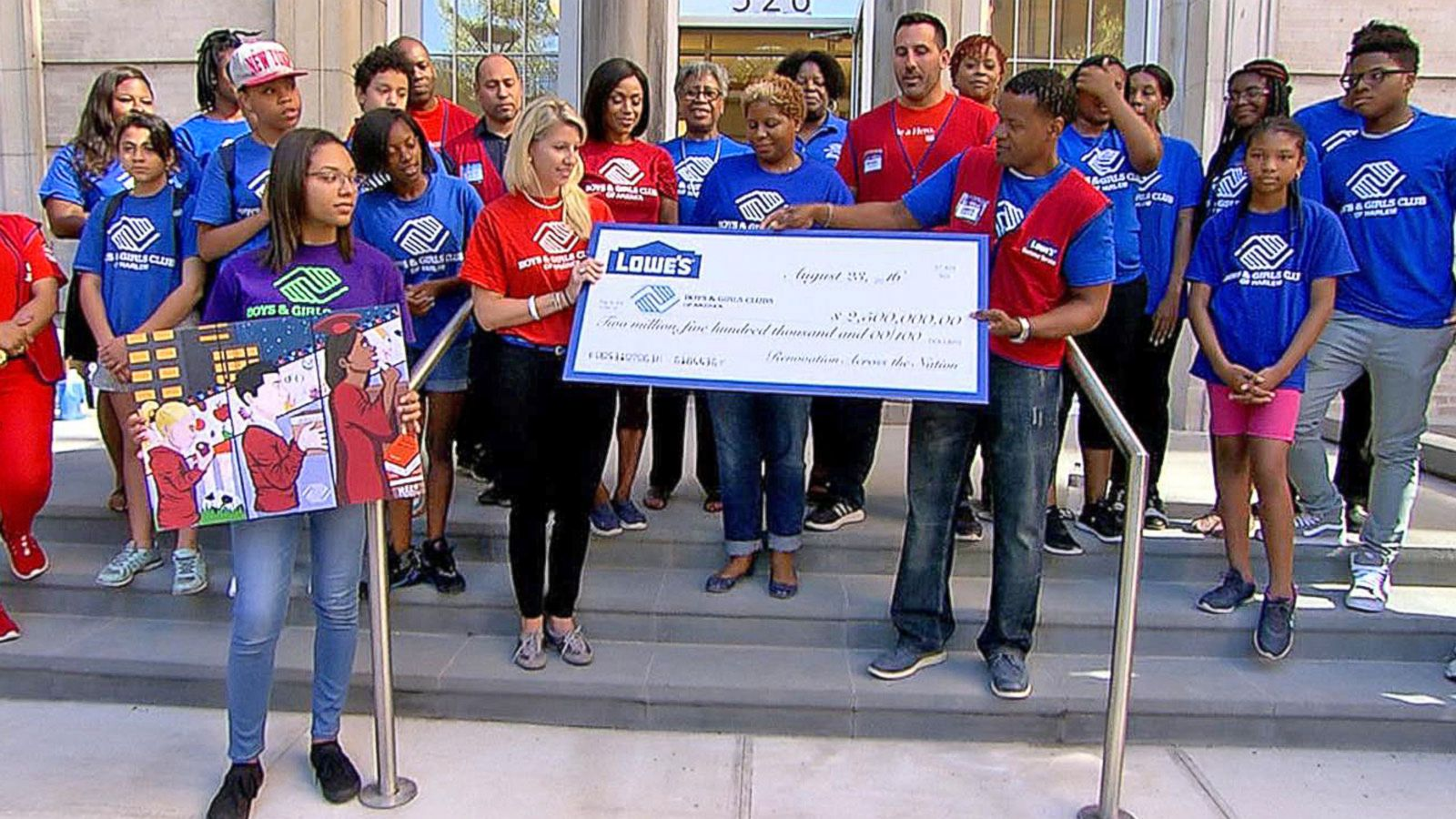 VIDEO: Lowe's Renovates Boys & Girls Clubs Across the Nation