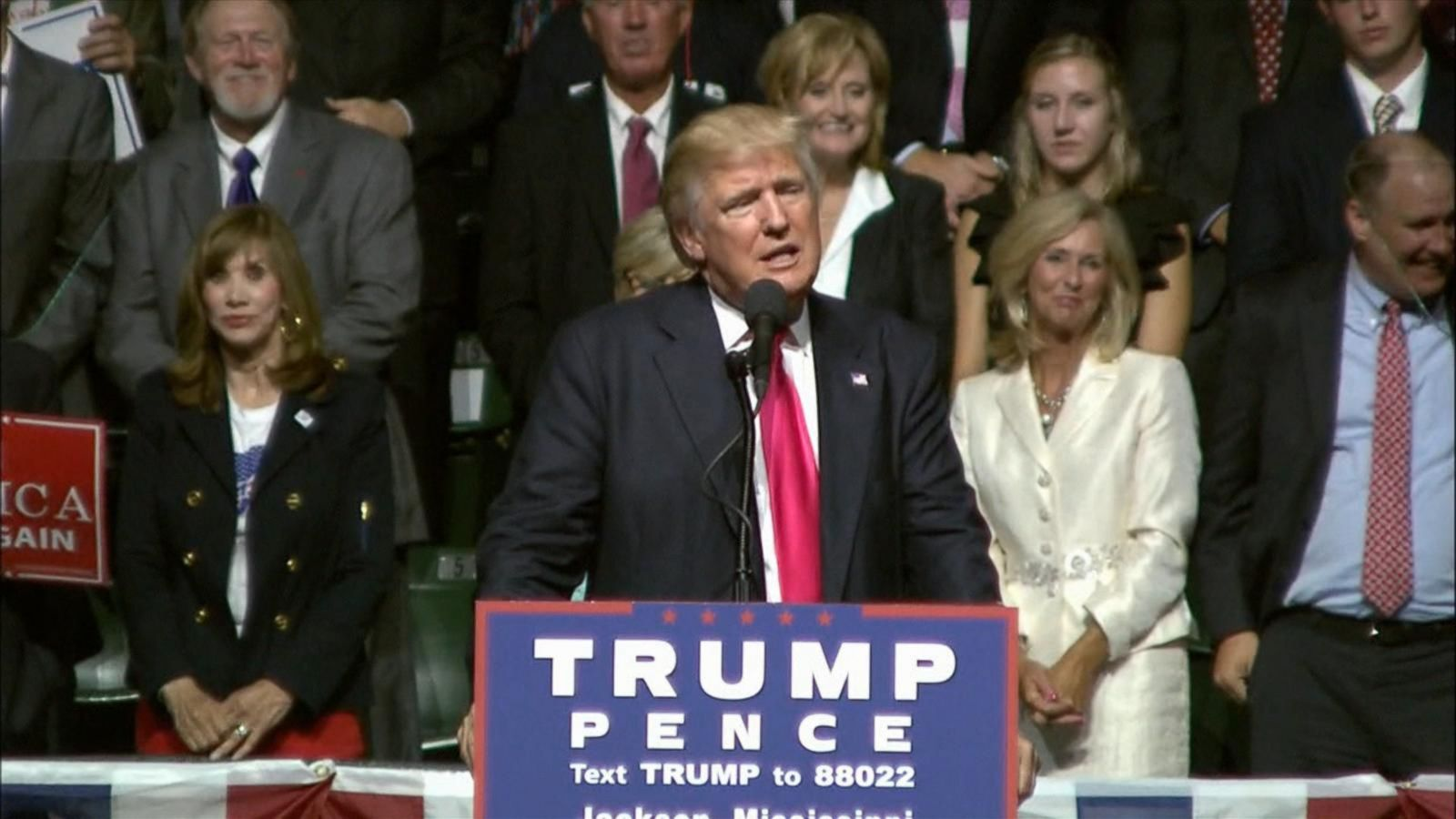 VIDEO: Donald Trump Changes Course on Immigration