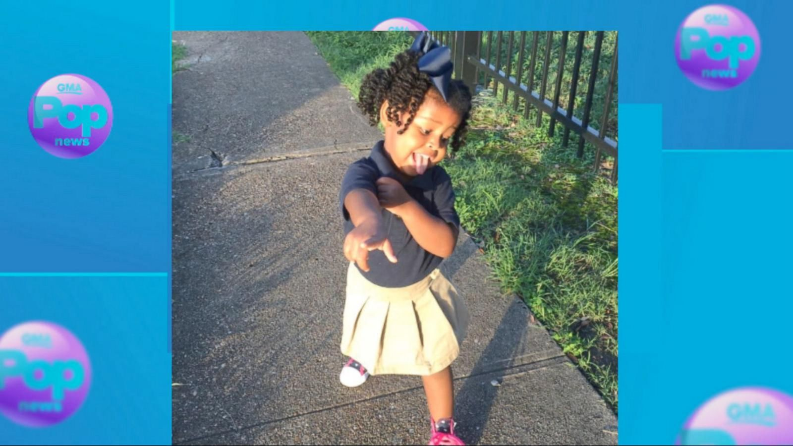 VIDEO: Little Girl's Excitement for First Day of School is Contagious