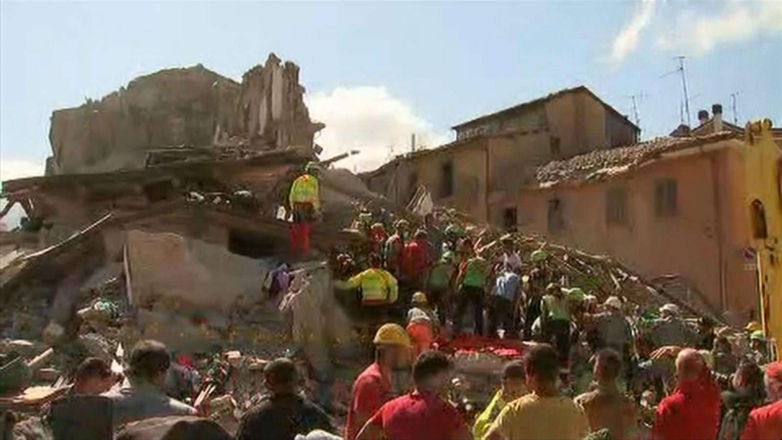 VIDEO: Italy Quake Zone Continues to Feel Aftershocks