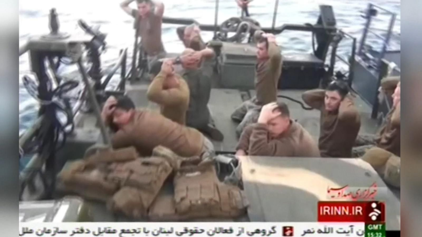 VIDEO: US Navy Patrol Boat Fires Warning Shots in Persian Gulf