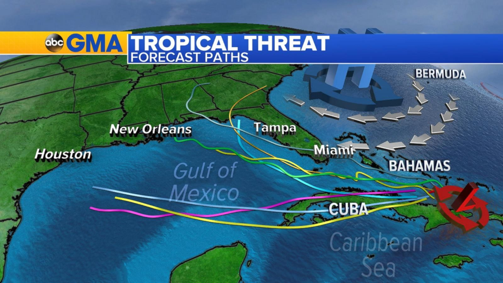 VIDEO: Tropical System Headed for South Florida