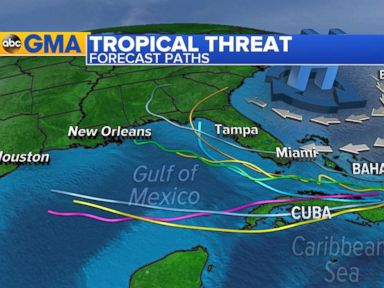 WATCH:  Tropical System Headed for South Florida