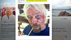 VIDEO: GMA 08/27/16: Sir Richard Branson Involved in Potentially Deadly Accident
