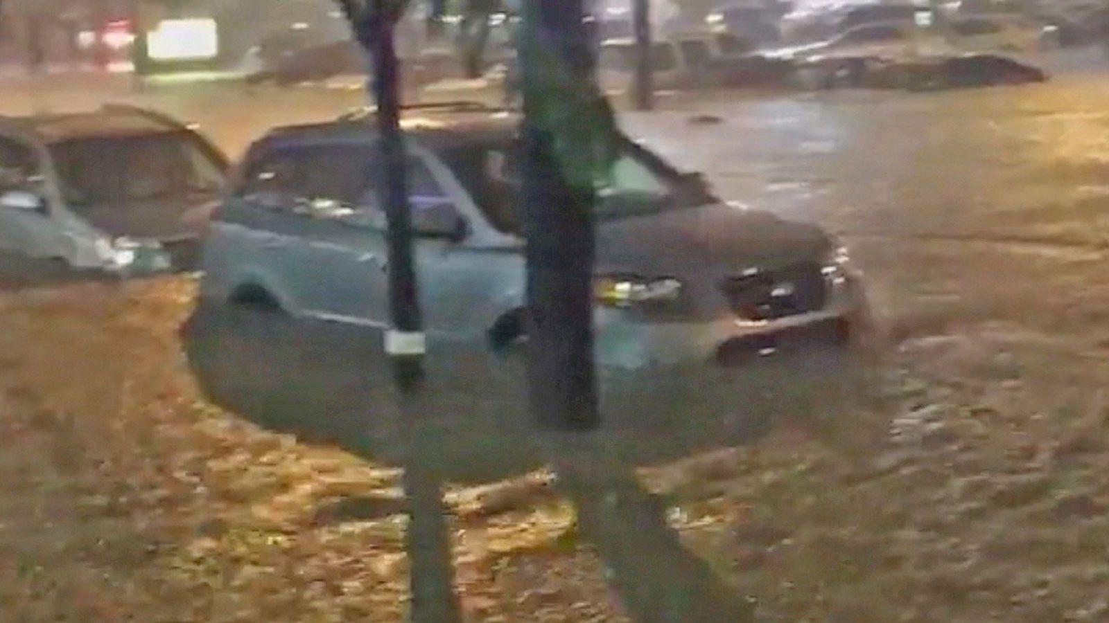 VIDEO: Flash Floods Hit Missouri, Indiana