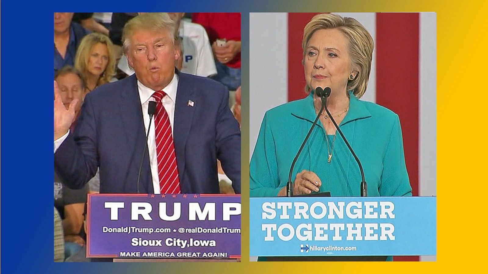 VIDEO: Donald Trump, Hillary Clinton Fight to Win Battleground States