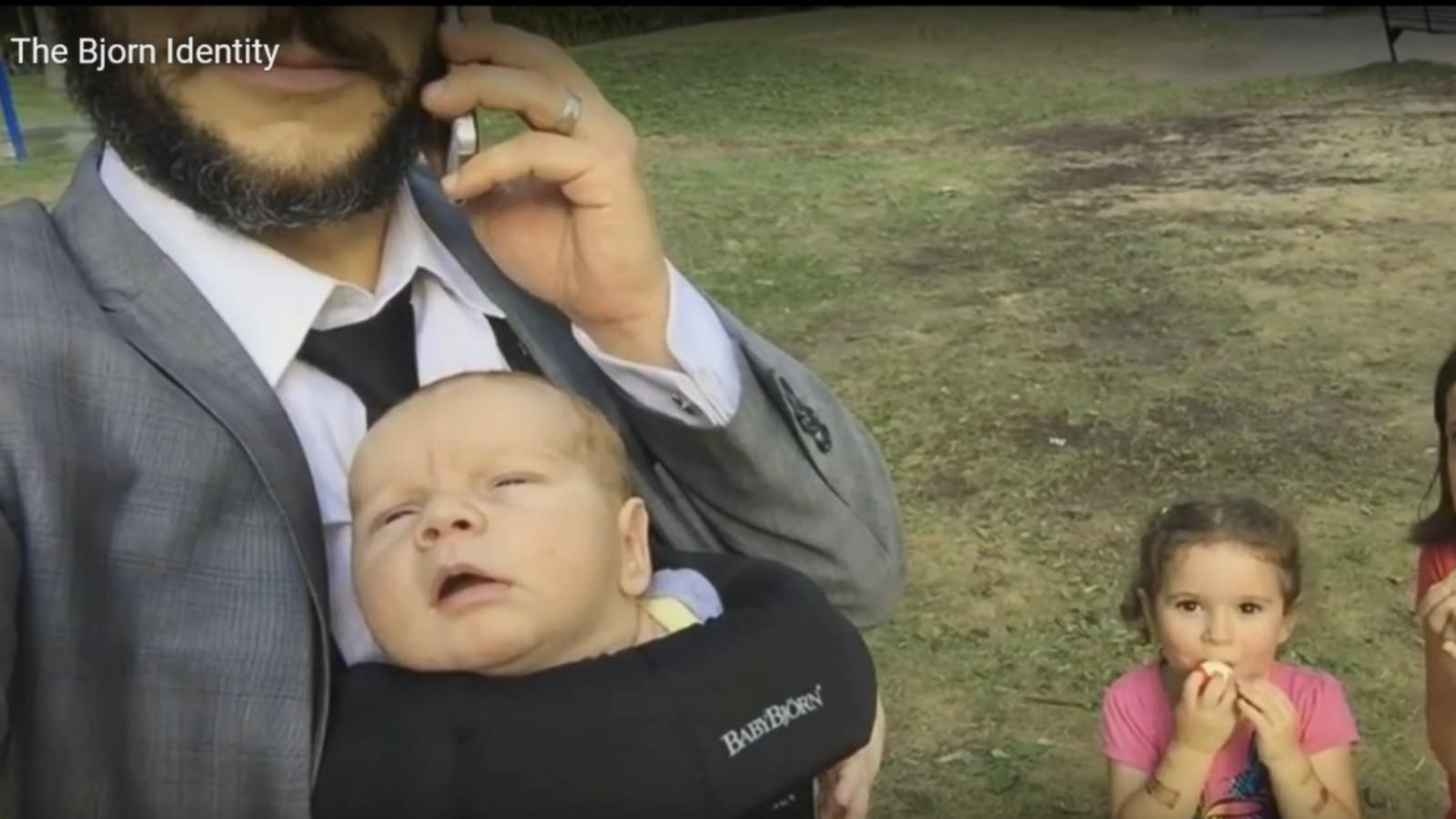 VIDEO: Dad Spoofs Jason Bourne With Hilarious (Baby) Bjorn Identity Video