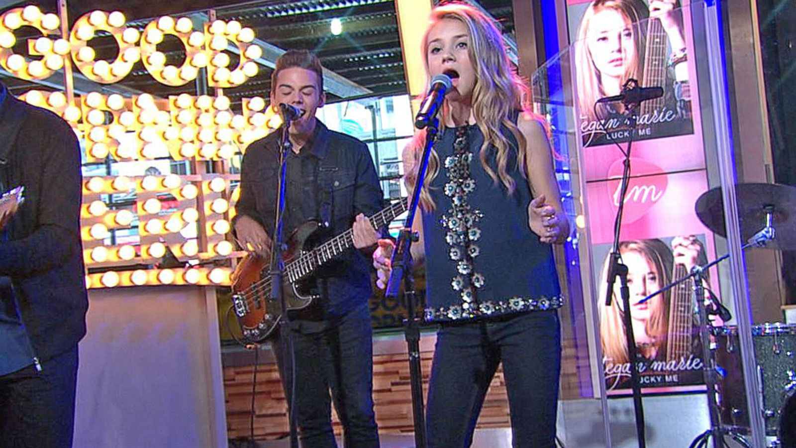 VIDEO: Tegan Marie Performs 'Lucky Me' on 'GMA'