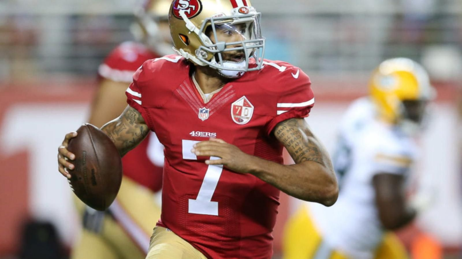 VIDEO: National Anthem Backlash Builds for 49ers QB Colin Kaepernick