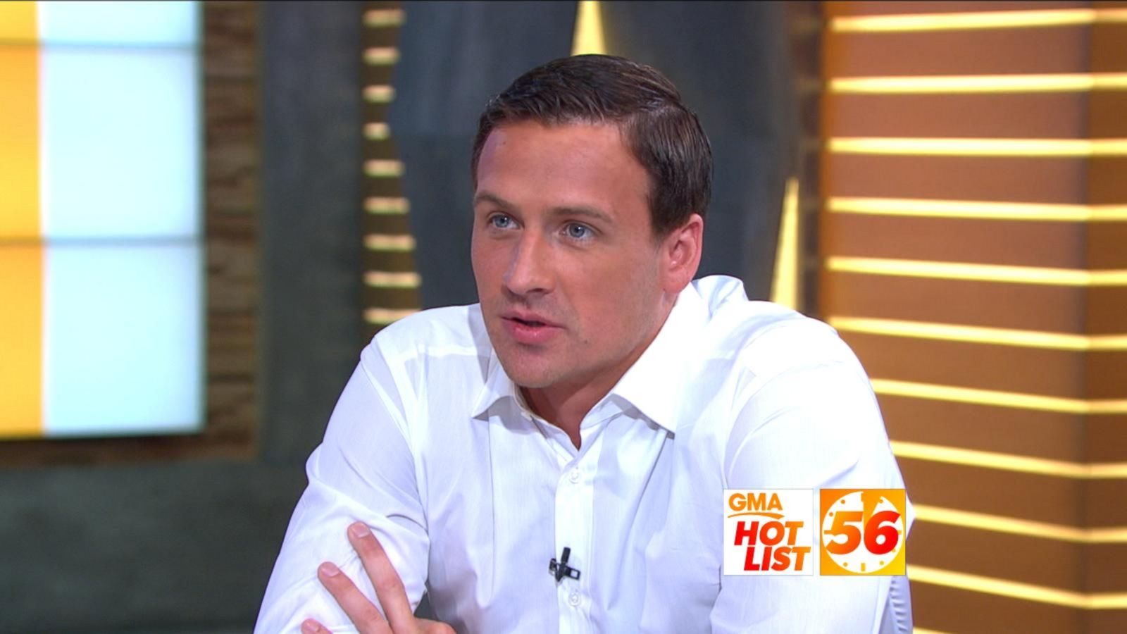 VIDEO: 'GMA' Hot List: Ryan Lochte Talks Rio 'Mistake', Joining 'DWTS'